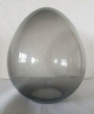 AU134.52 • Buy Bill Curry Stemlite By Design Line Mid-Century SMOKED GRAY GLASS EGG BULB ONLY