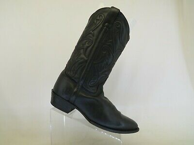 $102.59 • Buy Frye Black All Leather Western Cowboy Boots Mens Size 11 D