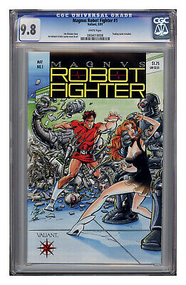 $36 • Buy Magnus Robot Fighter #1, CGC 9.8 With White Pages.