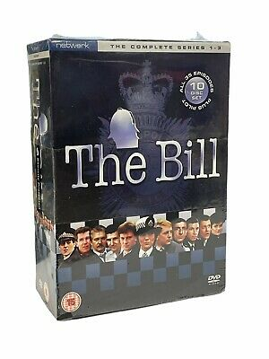£30 • Buy THE BILL - The Complete Series 1,2 & 3 Brand New & Sealed  10  Discs  Set