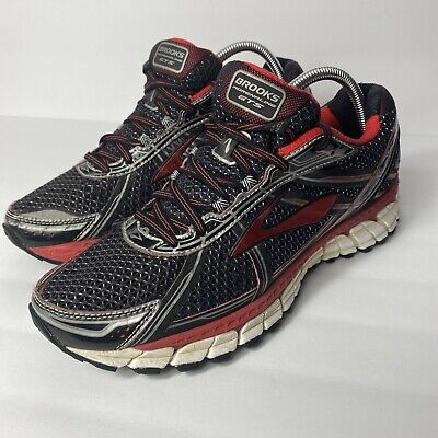 $ CDN0.01 • Buy Womens Brooks Red Black Adrenaline GTS-1S Running Athletic Shoes Size 9