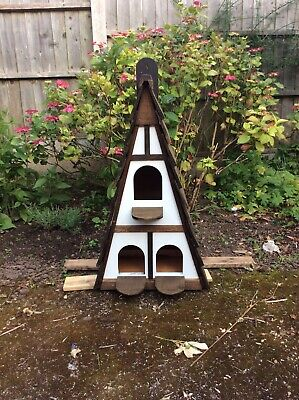 £50 • Buy Wall Mounted Dovecote/Birdhouse, 3 Compartments, Mock Tudor Style,55x40x89cm