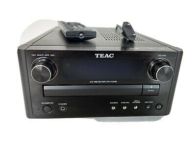£48 • Buy TEAC Micro HiFi, Model CR-H248, CD Receiver, Black - (without Speakers) - USED