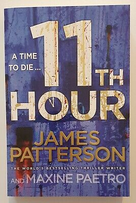 AU16 • Buy 11th Hour By James Patterson 9781846057922 Large Paperback