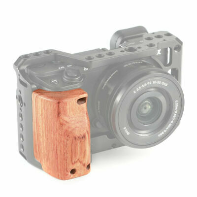 $ CDN31.72 • Buy SmallRig Wooden Handle Handgrip APS2318 For Sony A6400/A6300/A6500 Cage 2310