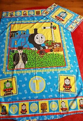 £14.99 • Buy Thomas The Tank Engine Single Duvet Cover And Pillow Case Zap Vintage
