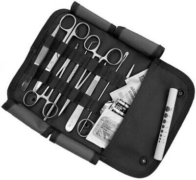 $32.97 • Buy Surgical Kit US Military First Aid Emergency Field Pouch M.O.L.L.E. Strap Black