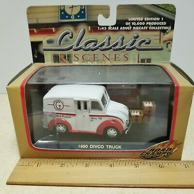 $29 • Buy Toy ROAD CHAMPS GRAHAM MILK COMPANY 1950 DIVCO TRUCK 1/43 In Box