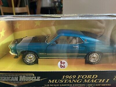 $50 • Buy American Muscle 1969 Ford Mustang Mach 1