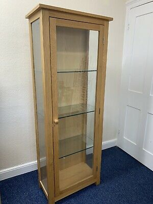 £80 • Buy Wooden Glass Display Cabinet