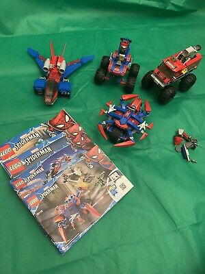 £40 • Buy LEGO Spiderman Bundle Vehicles 76148 76151 And 2 Others