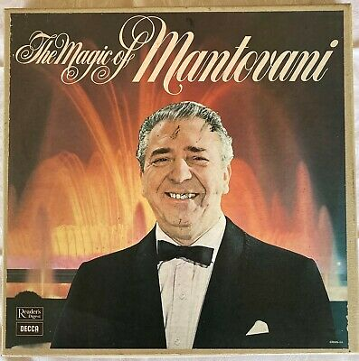 £6 • Buy The Magic Of Mantovani Boxed Set By Reader's Digest And Recorded By DECCA