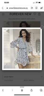 AU54 • Buy Wrap Dress  Forever New Size 10. Paid 140 Never Worn Selling For Half Price