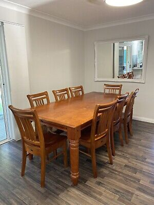 AU200 • Buy Dining Table And 8 Chairs