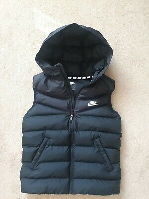 £45 • Buy NIKE FILLED BODY WARMER YOUTH BOYS SIZE L 147-158cm GENUINE GOOD CONDITION