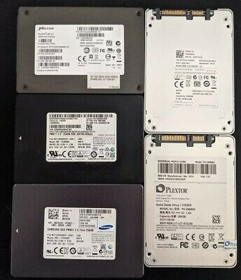 AU40 • Buy Assorted 256GB SSD Wiped And Tested Free Delivery Australia Wide