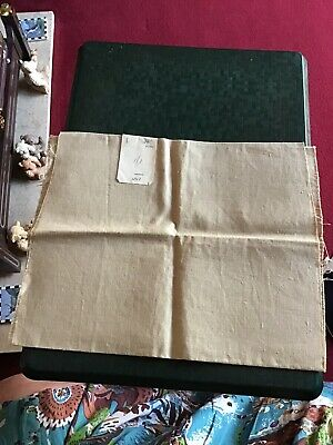 £4.95 • Buy Vintage 3/8 Yard X 24 Inch Wide Piece Pure Irish Linen Probably From 1930s