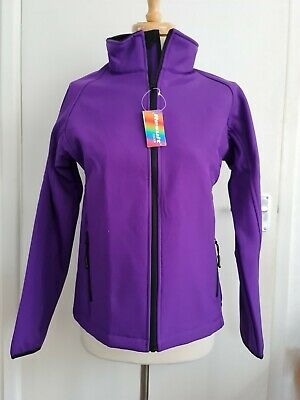 £13 • Buy Bnwt Result Colour Soft Shell Jacket Size 12