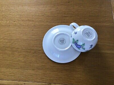 £8.50 • Buy Doulton Everyday Blueberry Pattern Cup And Saucer