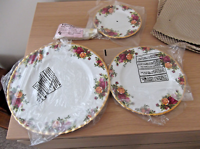 £40 • Buy Old Country Roses 3 Tier Cake Stand Royal Albert New