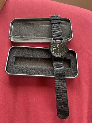 £35 • Buy MWC G10 50m Military Watch PVD Date Window Battery Hatch Back