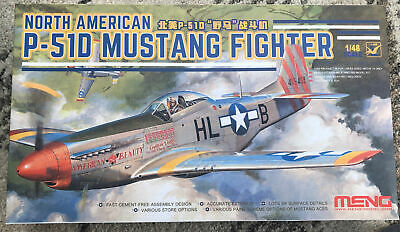 £14.99 • Buy 1/48 Meng Model LS-006 North American P-51 D Mustang With USAF Decals