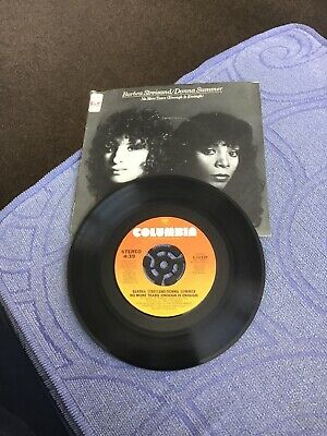 """£3.50 • Buy Vinyl 7"""" Record - B. STREISAND / D. SUMMER - NO MORE TEARS ( ENOUGH IS ENOUGH)"""