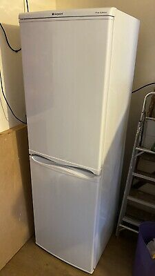 £150 • Buy Hotpoint 50/50 Fridge Freezer White - First Edition - Mint Condition  - Used