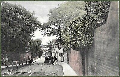 £7.50 • Buy East Hill, Ashford, Kent. Posted From Ashford To New Romney 1907.
