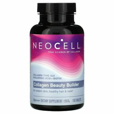 $15.99 • Buy NeoCell Collagen Beauty Builder With ALA & Biotin150 Tablet Exp:4/21-9/22+