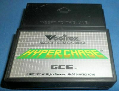 £9.71 • Buy VECTREX HYPER CHASE Game Only Very Good Condition 1982