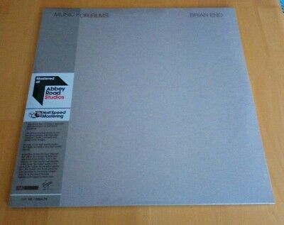 £29.99 • Buy Brian Eno Music For Films 2018 Euro 2x 12  LP Half Speed New Sealed Ambient