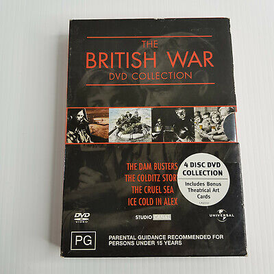 £0.53 • Buy The British War DVD Collection - 4 Classic War Films