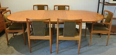 AU435 • Buy Parker Dining Table, 6 Chairs Two With Arm Rests