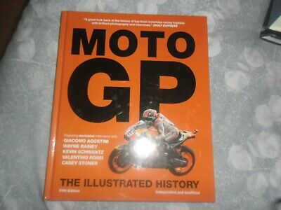 £3.75 • Buy MOTO GP THE ILLUSTRATED HISTORY BOOK 2017 Mint Motorcycle Racing
