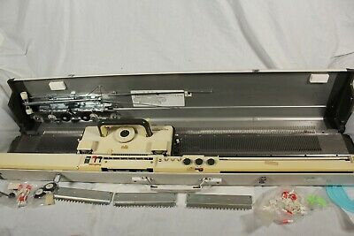 £199.95 • Buy Vintage Empisal Knitmaster 700 Knitting Machine + Accessories Table Top Knit