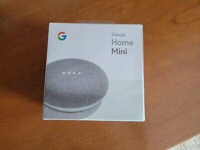 AU12.22 • Buy Google Home Mini Google Assistant Voice Enabled Brand New-Factory Sealed (Chalk)