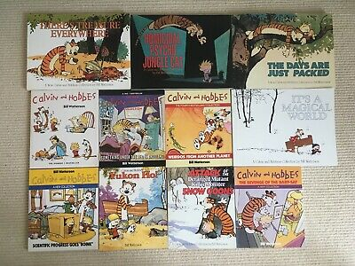 £49.99 • Buy Calvin And Hobbes Collection Eleven Books