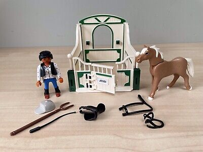 £2.90 • Buy Playmobil Horse With Stable & Rider