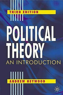£2 • Buy Political Theory: An Introduction By Andrew Heywood (Paperback, 2004)