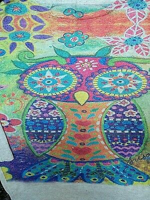 £0.99 • Buy Colourful Owl Jumper 10 12 14
