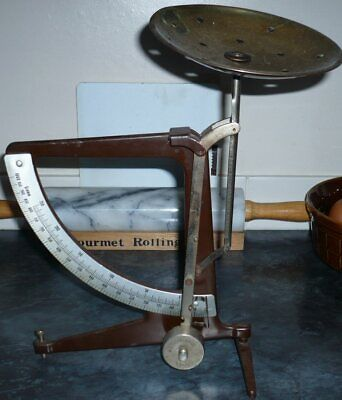£24.95 • Buy Vintage Post Office ?  Scales With Dial And Brass Plate.