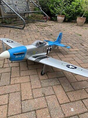 £100 • Buy Mustang P51D Radio Controlled Model Aircraft. With Servos & Retracts