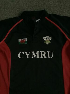 £4.50 • Buy Wales Rugby Shirt Jersey, MANAV, Size S