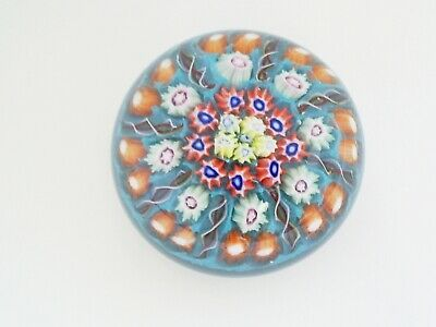 £24.99 • Buy Lovely Vintage Small Strathearn Millefiori 2.4   Glass Paperweight