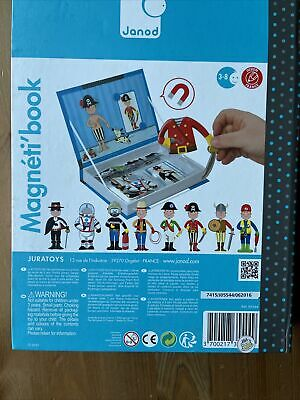 £0.99 • Buy Janod Boys Costumes Magneti'book Magnetic Picture Toy 3-8yrs