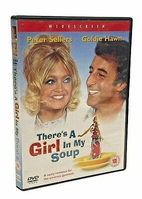 £11.95 • Buy THERE'S A GIRL IN MY SOUP (1970) Peter Sellers Goldie Hawn Film. UK R2 DVD EXC