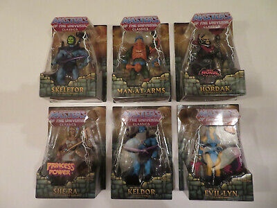 $800 • Buy Masters Of The Universe Classics, 6 Different Figures Moc