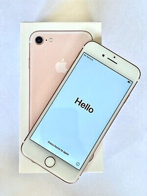 AU67 • Buy Apple IPhone 7 Rose Gold - 128GB - Unlocked - Like New Condition