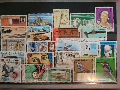 $ CDN4 • Buy Qatar - Lot Of 23 Stamps MNH - Different - Low Values